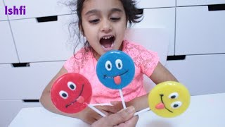 Smiley Lollipop Finger Family Song by Rufi