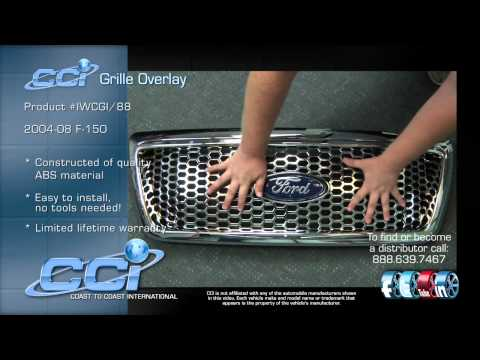 Ford F150 CCI Grille Overlay