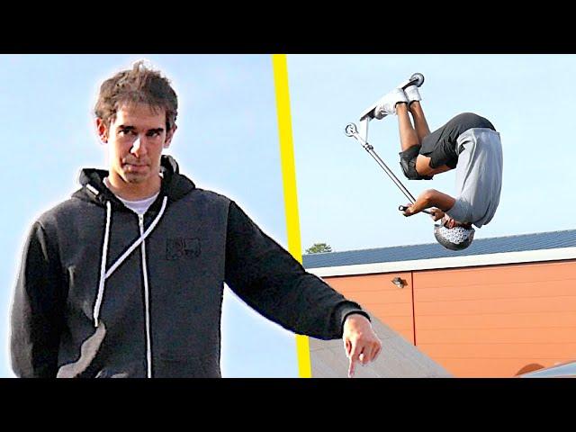 VODK MOBLIGE À FAIRE 1 FRONTFLIP ! (RedBox Skatepark)