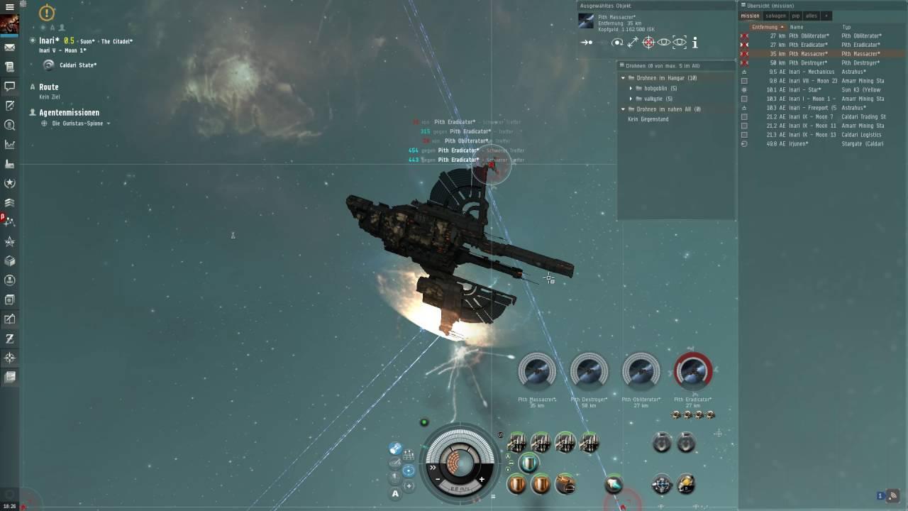 Malerisch Ae Trade Online Foto Von Eve Mission: Die Guristas-spione Level 4