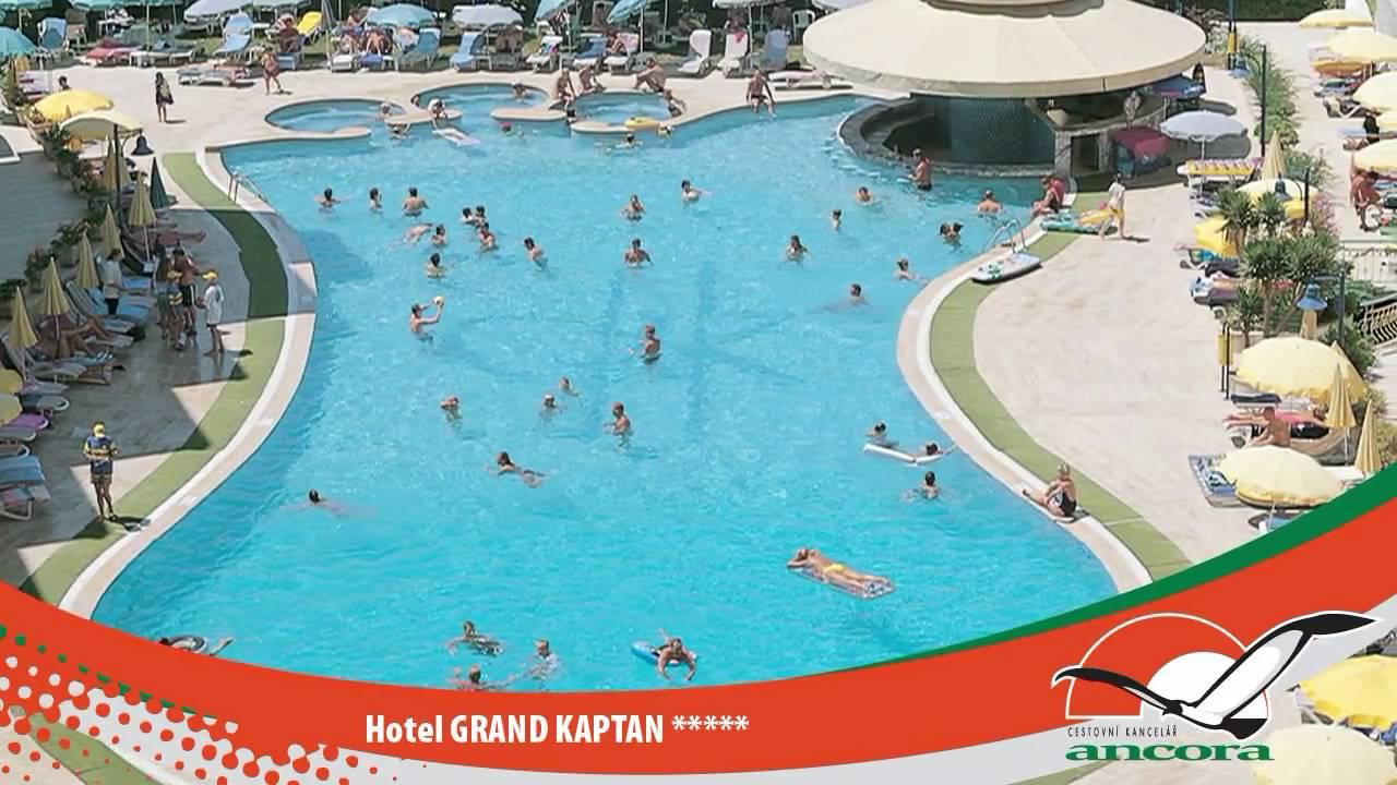 Hotel GRAND KAPTAN - ALANYA - TURKEY - YouTube