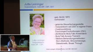 Video 1/3: Jutta Leininger: Das Body Talk System download MP3, 3GP, MP4, WEBM, AVI, FLV Juli 2018
