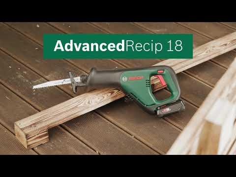 Bosch DIY AdvancedRecip