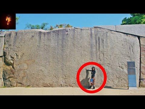 Gigantic Polygonal Masonry Found At Osaka Castle?