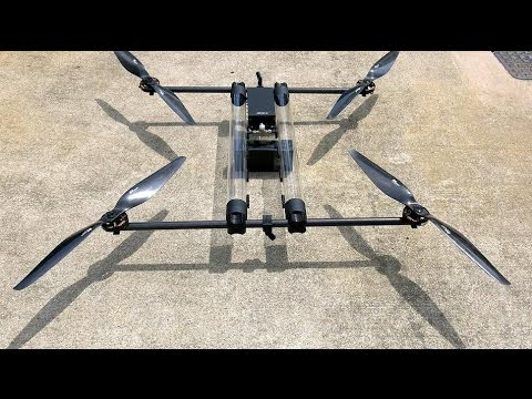 Hycopter drone can fly for 4 hours using Hydrogen