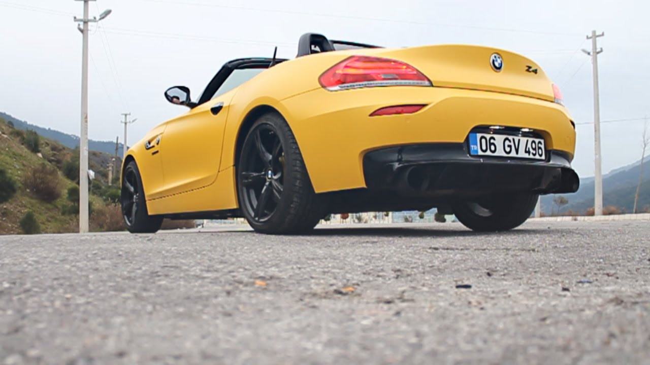 Bmw Z4 E89 Straight Pipe Varex Exhaust Sound Hd Youtube