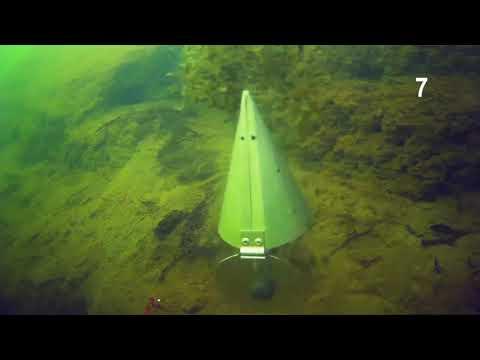 камера Sjcam Sj4000  ПОДВОДНОЕ ВИДЕО открывание кормушки на 3х метрах