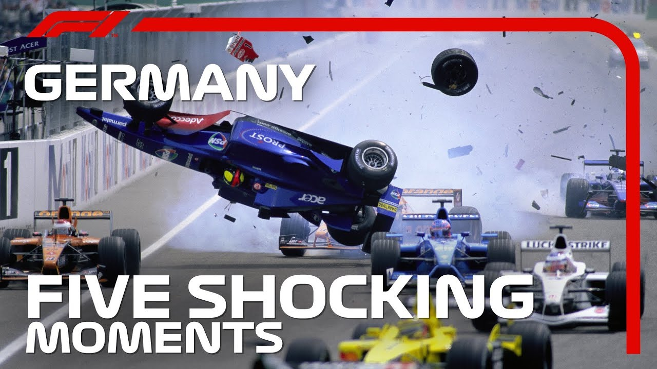 Five Shocking Moments From the German Grand Prix
