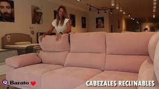 Vídeo: Sofá Chaiselongue TULUM