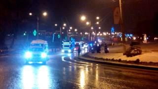 Олимпийский огонь в Саранске, промо-акция Coca-cola