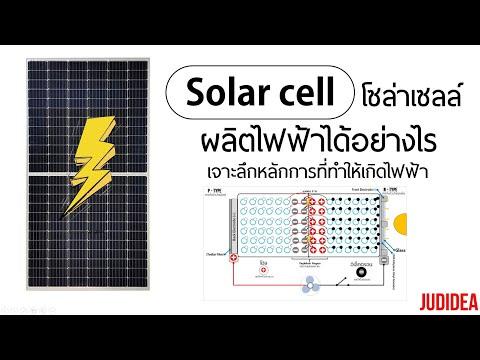 แผงโซล่าเซลล์ผลิตไฟฟ้าได้อย่างไร เจาะลึกหลักการ