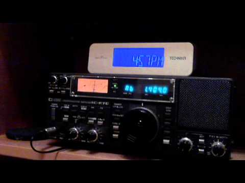 Radio Cluj Hungarian service on 1404 KHz