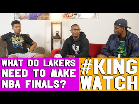 WHAT MUST LAKERS DO TO MAKE 2019 NBA FINALS? | #KingWatch | #HoopsNBrews