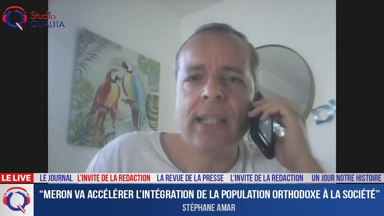 """""""Meron va accélérer l'intégration de la population orthodoxe à la société"""" - L'invité du 3 mai 2021"""
