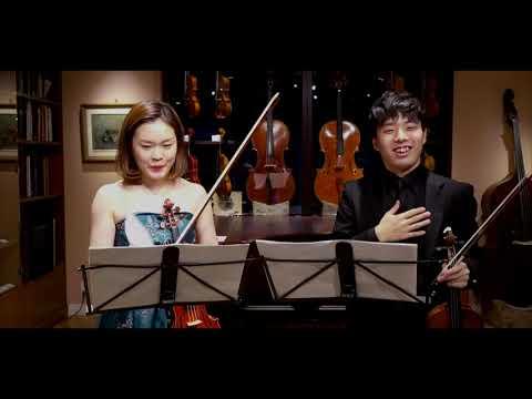 プロコフィエフ:2つのヴァイオリンのためのソナタ/岸本萌乃加 (ヴァイオリン) 林周雅(ヴァイオリン)