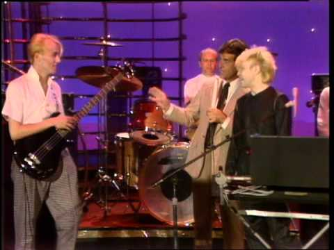 Dick Clark interviews A Flock of Seagulls  American Bandstand 1982
