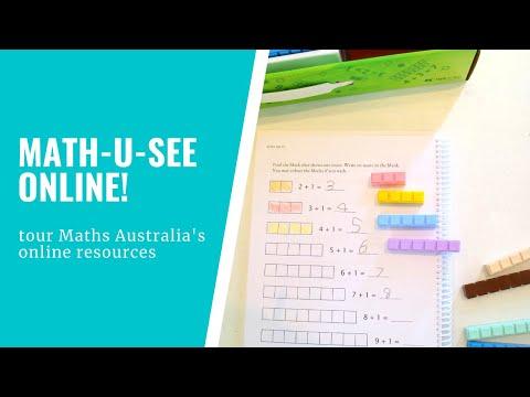 Maths Australia Membership - get Math-U-See online!