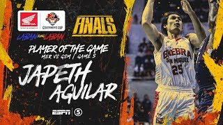 Best Player: Japeth Aguilar | PBA Governors' Cup 2019 Finals