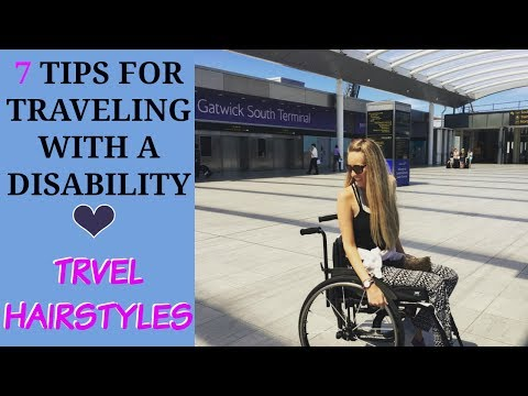 2 TRAVEL Hairstyles | 7 TIPS Travelling With a DISABILITY | VLOG 2: | ICANT BELIVE WHAT HE SAID!!!!