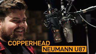 Telefunken CU29 Copperhead vs. Neumann U87 | VO Mic Comparison