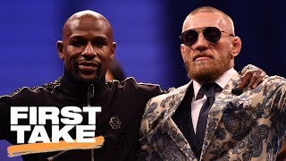 Mayweather-McGregor rematch possible after record 6.5M PPV sales?   First Take   ESPN