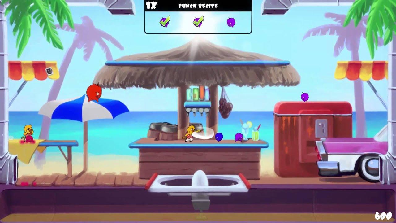 Fruit jam game - Super Fruit Punch Global Game Jam 2014