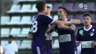 Békéscsaba - Újpest  1-1 Magyar kupa elődöntő II.  2015/2016
