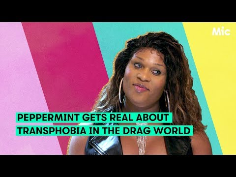 'Drag Race' runnerup Peppermint opens up about transphobia in the drag world