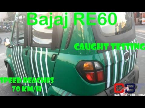Bajaj RE60 Video featuring its Test Run