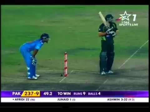 lala  shahid  afridi batting