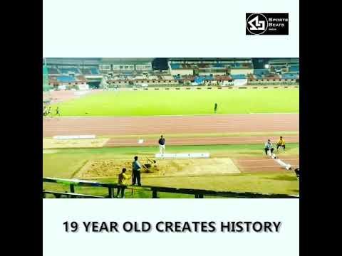 Sreeshankar Murali - Long Jump National Record