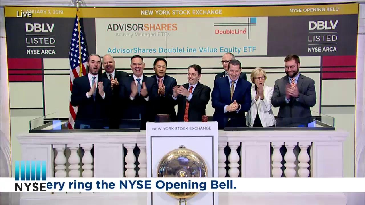 AdvisorShares Trust ETFs Rings the NYSE Opening Bell YouTube