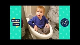 TRY NOT TO LAUGH CHALLENGE - Ultimate Epic KIDS FAIL Compilation | Funny Vines May 2018