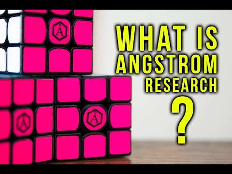 Angstrom Research Cubes + What Is This Sub Brand?