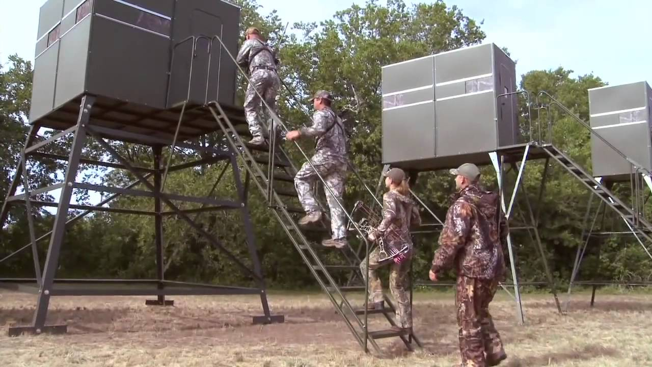 Deer Hunting Blinds And Deer Stands By Texas Hunter