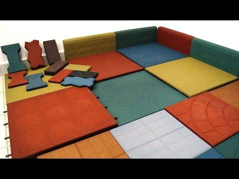 Rubber Tile Equipment Crumb Rubber Rubber Tile