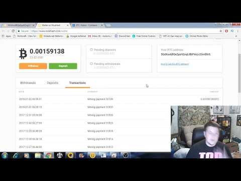 GTX 1060 6gb Mining On Nicehash (daily Update 1-2-18)