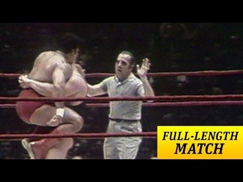 FULL-LENGTH MATCH - MSG - Pedro Morales vs. Ivan Koloff