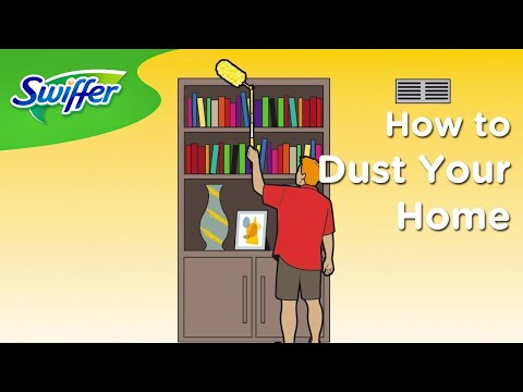 Swiffer's Quick and Easy Dusting Tips | Swiffer