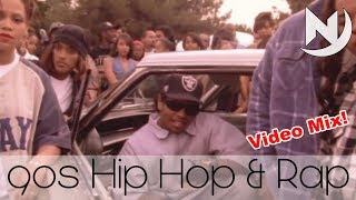Hip Hop Rap & RnB 90s Old School Mix | Best of 90s & early 2000s Throwback Dance Music #6