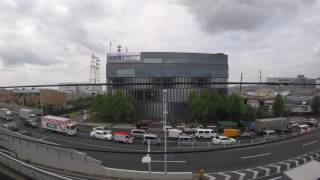 【何度も止まる】東京メトロ 東西線 西葛西~南砂町(ラッシュ時の車窓風景)