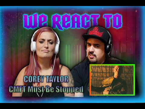 Corey Taylor - CMFT Must Be Stopped (feat. Tech N9ne \u0026 Kid Bookie) [OFFICIAL VIDEO] COUPLES REACT