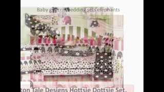 Baby Girl Crib Bedding Sets Elephants