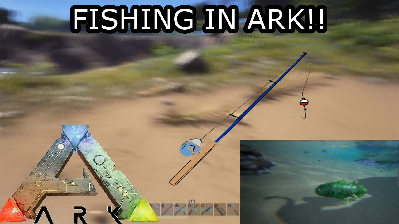 fishing in ark survival evolved ark updates youtube