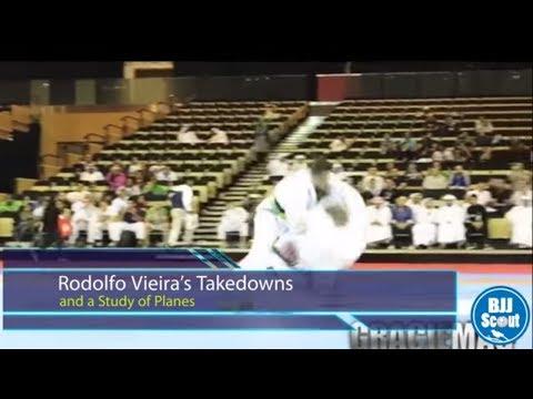 BJJ Scout: Rodolfo Vieira Takedown Study Part 1 - A Study of Planes