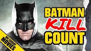 Batman BATMAN V SUPERMAN Movie Kill Count Supercut