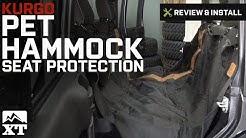 Jeep Wrangler Kurgo Pet Hammock Seat Protection (2007-2017 JK) Review & Install