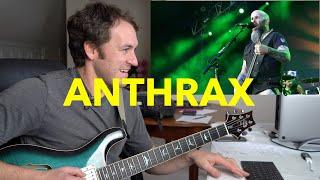 "Guitar Teacher REACTS: ANTHRAX ""Antisocial"" | LIVE (BLOODSTOCK 4K)"