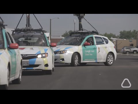Google Street View cars are starting to map air pollution