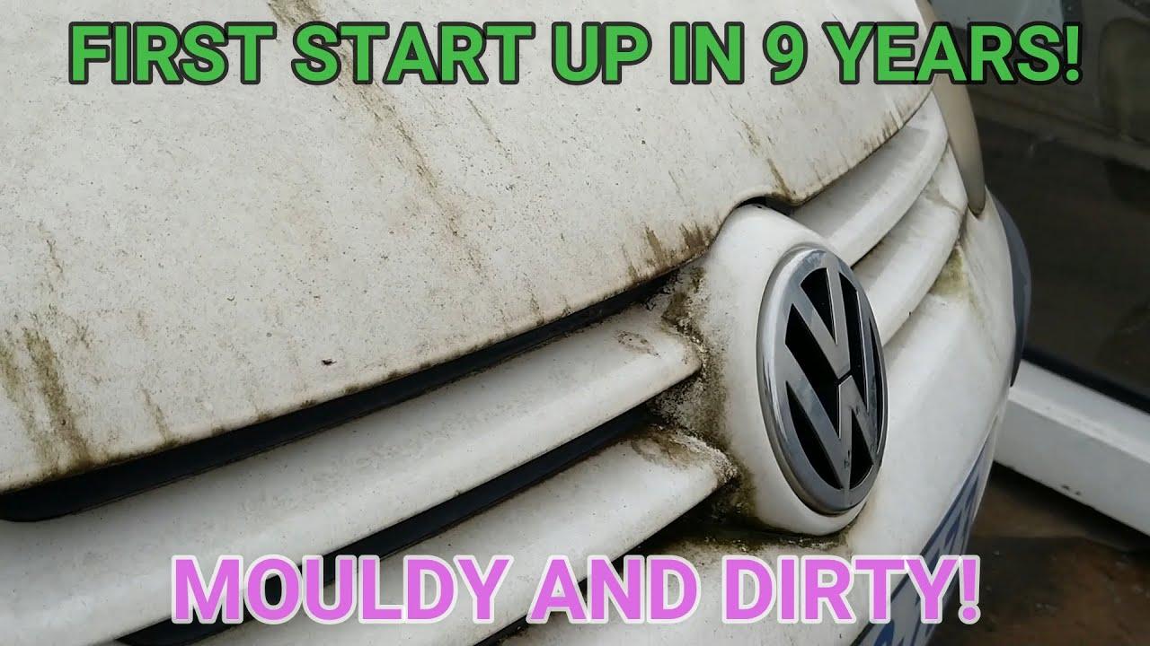 RESTORING AN ABANDONED MODERN CAR - FIRST START UP AFTER 9 YEARS!